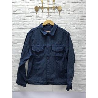 ルイヴィトン(LOUIS VUITTON)のLouis Vuitton モノグラムデニムジャケット コットン ブルー(Gジャン/デニムジャケット)