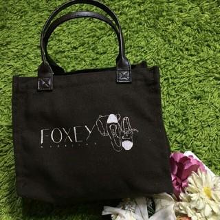 FOXEY - フォクシー 定番ロゴ入りトートバッグ