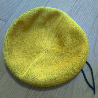 マウジー(moussy)のGALLERIE ギャレリー ベレー帽(ハンチング/ベレー帽)
