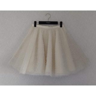 レッドヴァレンティノ(RED VALENTINO)の御専用 レッドヴァレンチノ RED VALENTINO チュール贅沢スカート(ミニスカート)