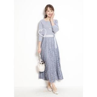 JUSGLITTY - 【新品タグ付き】JUSGLITTY☆フレアレーススカート