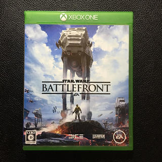 エックスボックス(Xbox)のスター・ウォーズ バトルフロント XBOX ONE(家庭用ゲームソフト)