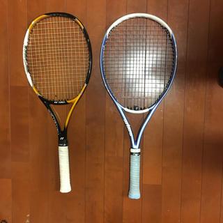 ヨネックス(YONEX)のテニスラケット2本 テニスバッグ セット(テニス)