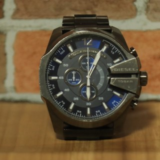 ディーゼル(DIESEL)のDIESEL ディーゼル 品番 10BAR ダイバーウォッチ 防水加工 (腕時計(アナログ))