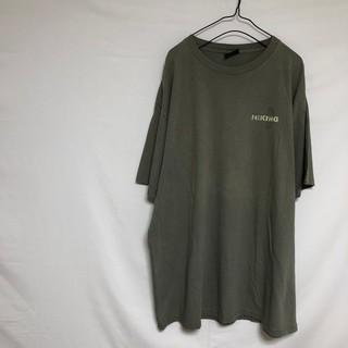 ウールリッチ(WOOLRICH)のUSA製 WOOLRICH ロゴ Tシャツ HIKING ハイキング カーキ(Tシャツ/カットソー(半袖/袖なし))