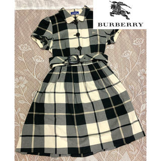 BURBERRY BLUE LABEL - Burberry Blue label チェックワンピース