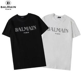 BALMAIN - BALMAIN バルマン  丸襟Tシャツ 半袖