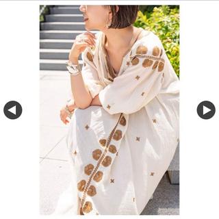 Plage - 完売品  新品未使用タグ付き プラージュ 刺繍ワンピース