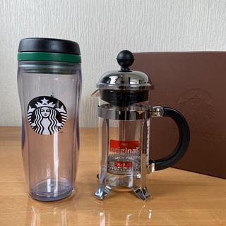 Starbucks Coffee - Starbucks プレス タンブラー