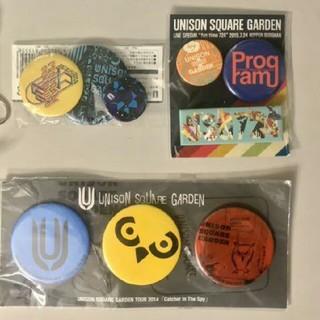UNISON SQUARE GARDEN - unisonsquaregarden缶バッジ未開封セット