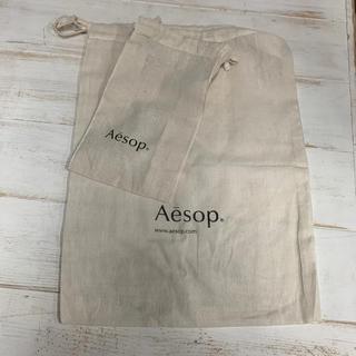イソップ(Aesop)のAesop イソップ  ショッパー 巾着 袋(ショップ袋)