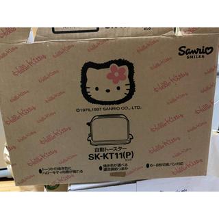 ハローキティ(ハローキティ)の[最終値下げ!]自動トースター サンリオ キティちゃん(調理機器)