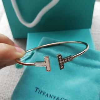 Tiffany & Co. - 素敵❤️ Tiffany 人気 ブレスレット レディース ピンクゴールド