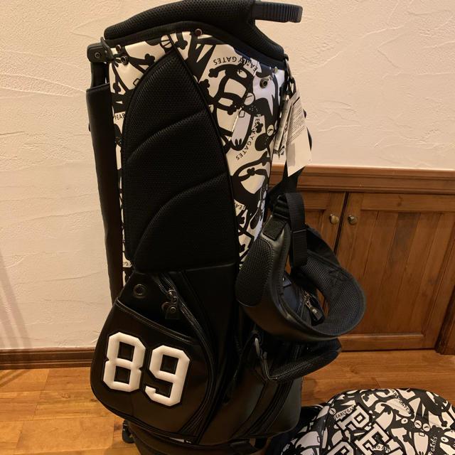 PEARLY GATES(パーリーゲイツ)の残り1個 パーリーゲイツ ニャロメ スタンド キャディバッグ  スポーツ/アウトドアのゴルフ(バッグ)の商品写真