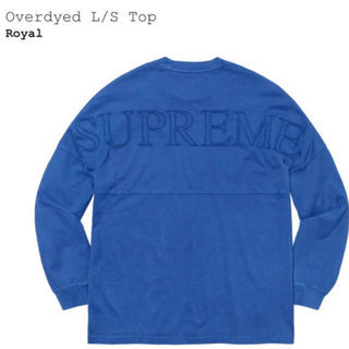 シュプリーム(Supreme)のSupreme Overdyed L/S Top ロンT(Tシャツ/カットソー(七分/長袖))