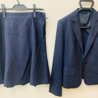 青山 - 洋服の青山 フレアスカートスーツ 9号