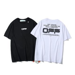 OFF-WHITE - off-white 20ss Tシャツ   YC342-43