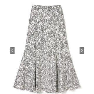 GRL - GRL フラワーマーメイドスカート ホワイト