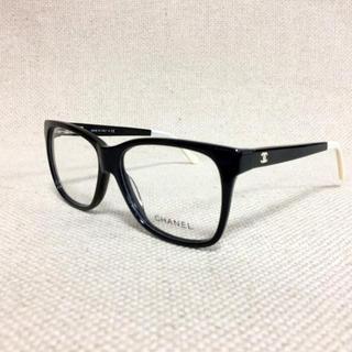 CHANEL - シャネル/CHANEL 眼鏡 メガネ 黒/ホワイト 3230