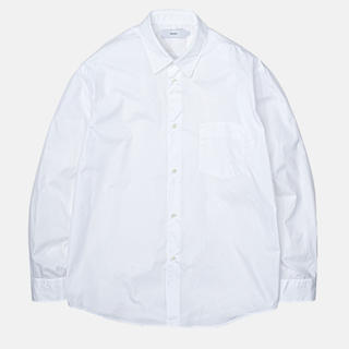 COMOLI - Graphpaper Broad L/S Regular collarshirt