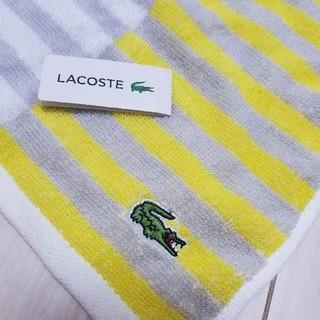 LACOSTE - 【新品】【未使用】【タグ付き】ラコステ ハンカチ