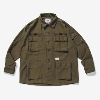 W)taps - Mサイズ wtaps jungle LS 01 shirt olive drab