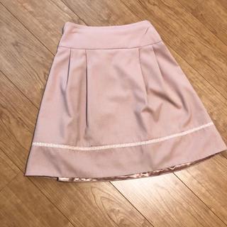 ウィルセレクション(WILLSELECTION)の♡フレアスカート♡ピンク♡(ひざ丈スカート)