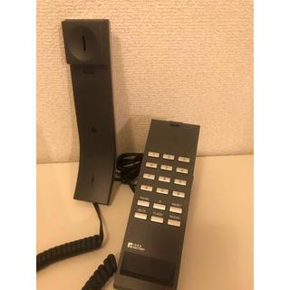パナソニック(Panasonic)の固定電話 固定電話機 IDEA・LABEL スマートフォンブラック&シルバー(その他)