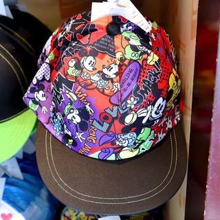 ディズニー(Disney)のディズニーリゾート コミック柄 キャップ(キャップ)