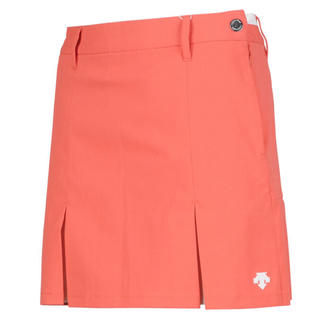 DESCENTE - 新品未使用!デサントゴルフ完売品 2020SS 新作 スカート パステルオレンジ