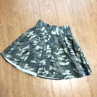 シマムラ(しまむら)の♡スカート♡迷彩柄♡(ひざ丈スカート)