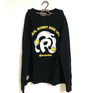 リアルビーボイス(RealBvoice)の【大幅値下げ!!】Real Bvoice リアルビーボイス ロンT ブラック(Tシャツ/カットソー(七分/長袖))