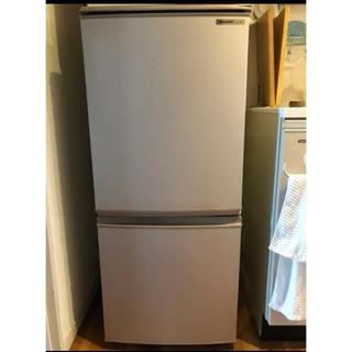 SHARP - SHARP SJ-14R-C 2ドア冷蔵庫 冷凍冷蔵庫
