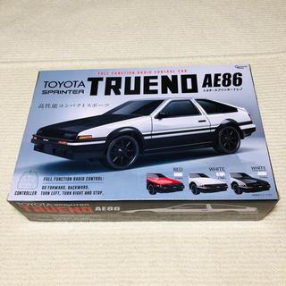 トヨタ(トヨタ)のTOYOTA スプリンター トレノ AE86 ラジコン ホワイト(ホビーラジコン)