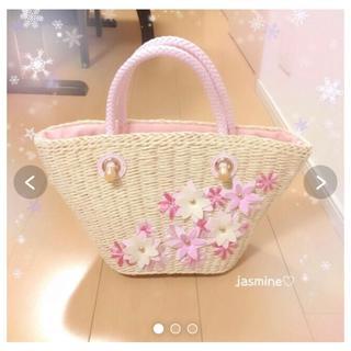 Rady - Rady✧*。可愛い*花柄エレガンスフラワーカゴバッグSピンク♡エミリアウィズ