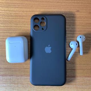 アップル(Apple)の【新品】iPhone11pro シリコーン シリコン アップル【送料無料】(iPhoneケース)