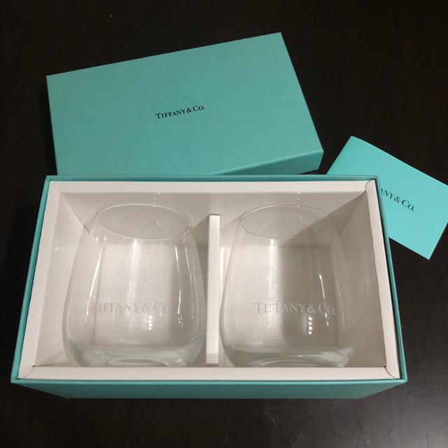 Tiffany & Co.(ティファニー)の【Kさま】ティファニータンブラー インテリア/住まい/日用品のキッチン/食器(タンブラー)の商品写真