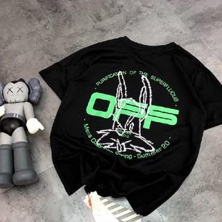 OFF-WHITE - 夏コーデ OFF-WHITE オフホワイト  Tシャツ
