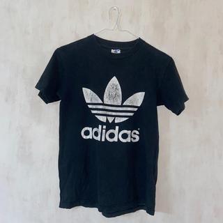 adidas - adidas 古着Tシャツ 黒
