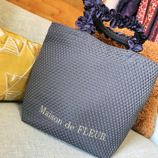 メゾンドフルール(Maison de FLEUR)の新品 Maison de FLEUR トートバッグ(トートバッグ)