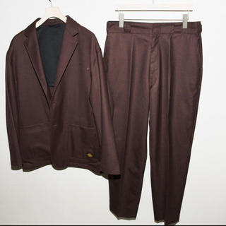 Dickies - Dickies×tripster ブラウン sサイズ 172cmで着用