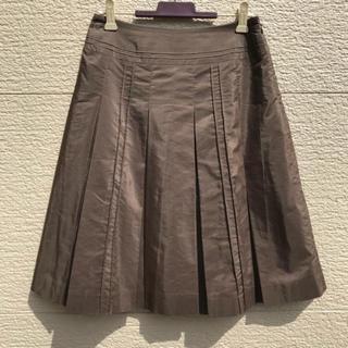 アナイ(ANAYI)のANAYI アナイ スカート ブラウン 36(ひざ丈スカート)