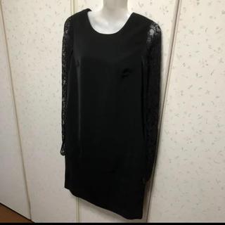 スコットクラブ(SCOT CLUB)の新品 定価25,000円 スコットクラブ ドレス ワンピース(ミディアムドレス)