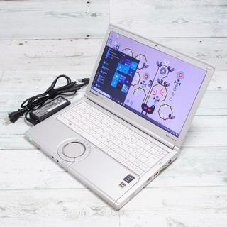 パナソニック(Panasonic)のレッツノート NX4 win10 i3 4GB 320GB wifi カメラ(ノートPC)