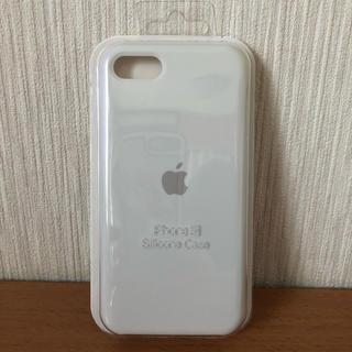 アップル(Apple)のiPhoneSE2 シリコンケース ホワイト(iPhoneケース)