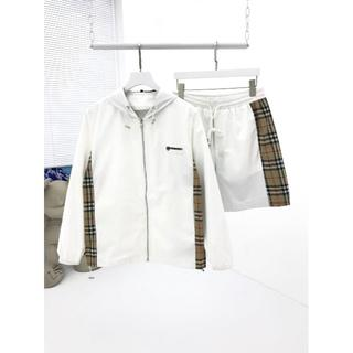 BURBERRY - BURBERRY/ショートスリーブシャツ/シャツ+  ショートパンツ