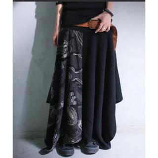 アンティカ(antiqua)のアンティカ 変形スカート 美品(ロングスカート)