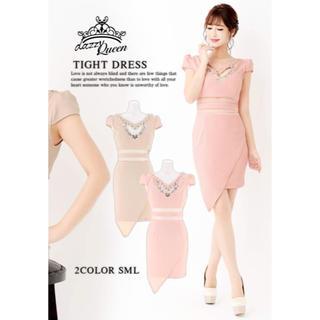 dazzy store - デイジーストア 新品未使用 未開封 Sサイズ ミニドレス 可愛い 透け ピンク