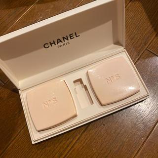 シャネル(CHANEL)の2個 シャネル No5 石けん パヒューム CHANEL(ボディソープ/石鹸)