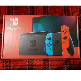 ニンテンドースイッチ(Nintendo Switch)の任天堂Nintendo Switch  ネオン赤青 (家庭用ゲーム機本体)